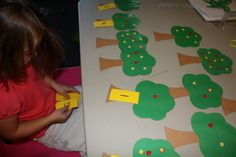 Chicka Chicka 123 tree number match game.