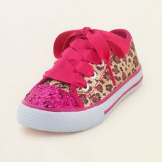 Check out The Children's Place for a great selection of kids clothes, baby clothes & more. Shop at the PLACE where big fashion meets little prices! Baby Girl Shoes, My Baby Girl, Baby Love, Girls Shoes, Leopard Sneakers, Cute Outfits For Kids, Baby Feet, My Little Girl, Kids Wear