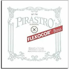 Pirastro Flexocor Double Bass E String - 3/4 (full) size - Medium Gauge - Extra Long by Flexocor (Pirastro). $82.27. Pirastro Flexocor Double Bass E String, Extra LongChromesteel wound on steel core
