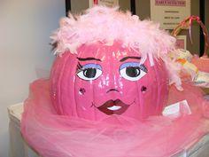 """Breast Cancer awareness """"pumpkin""""."""
