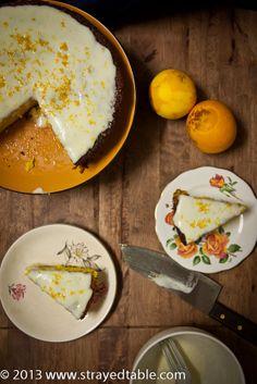 Orange Turmeric Gluten Free Cake Recipe