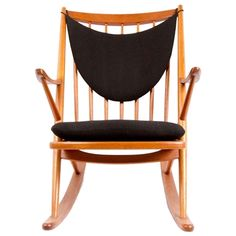 Frank Reenskaug for Bramin, 1958 Danish Modern Rocking Chair | From a unique collection of antique and modern rocking chairs at http://www.1stdibs.com/furniture/seating/rocking-chairs/