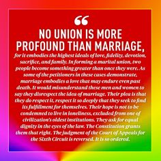 The 10 Most Moving Quotes From the Supreme Court's Same-Sex Marriage Decision