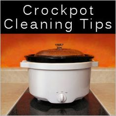Crockpot Cleaning Tips