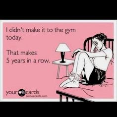 (gym,procrastination,funny)