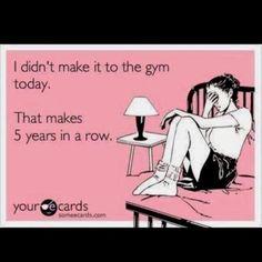(gym,procrastination,funny)