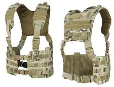 Condor MCR7 Ronin Chest Rig Quick Release Padded MOLLE Tactical H-Harness Vest