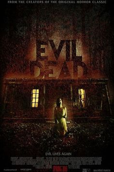 Evil Dead (2013) -- Over.The.Top. Creepy Awesome & Gorylicious. Five friends at a remote cabin in the woods awaken an ancient evil. Truckloads of gore. Jane Levy & Lou Taylor Pucci are perfection. I was mesmerized by the attention to all the little details. Director Fede Alvarez' has created a masterpiece. Well done, Mr. Alvarez. Well done indeed. My faith is restored that movies like this one still exist. Pure horror movie magic. A definite keeper. Mina Tepes Rating: Fangs to Infinity.