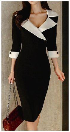 Elegant Dresses Classy, Elegant Outfit, Classy Dress, Stylish Dresses, Classy Outfits, Stylish Outfits, Beautiful Dresses, Casual Dresses, Fashion Dresses
