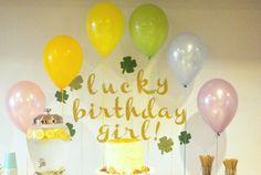 hart + sew | Vintage Baby Clothing: lark's 1st birthday!