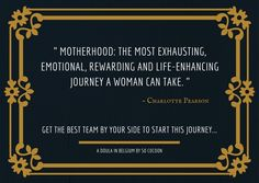 Inspirational quote for motherhood