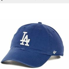 Brand Los Angeles Dodgers Clean Up Hat - Blue 2890d869dda