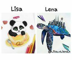 Lisa or lena? A: Lisa Lisa Or Lena, Aphrodite, Bffs, Quizzes, Iphone Cases, Kawaii, Puppies, Disney, Girls