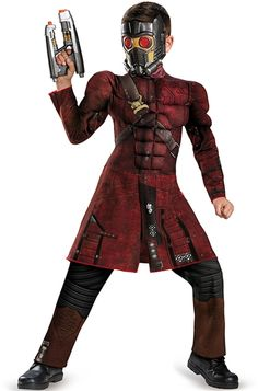 Guardians of the Galaxy Star-Lord Muscle Child Costume - 353852