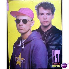 Pet Shop Boys pin up poster jacket and hoodie