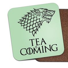 EXCITED for #GoT!! Coasters from http://ift.tt/1ihQVKN
