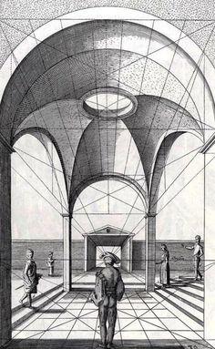 Speciesbarocus: Jan Vredeman de Vries - Perspective (1604). http://sugarmeows.tumblr.com/post/31692199537/speciesbarocus-jan-vredeman-de-vries