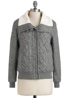 Stormy Heather Jacket, #ModCloth @Heather Sewell I had to post for it's name alone ;)