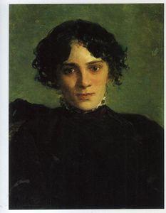 Nikolai Ge - Porträt von Maria Gabayeva