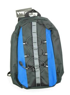New WFS 2 Liter Hydration Pack and Backpack Black Blue ** More info could be found at the image url.