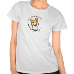Fawn White Corgi Its All About Me Tees   Click on photo to purchase. Check out all current coupon offers and save! http://www.zazzle.com/coupons?rf=238785193994622463&tc=pin