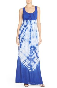 tie dye maxi dress h&m