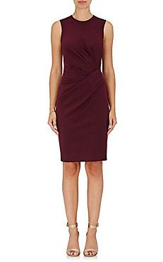 Lanvin Gathered Waist Sheath Dress $1,450