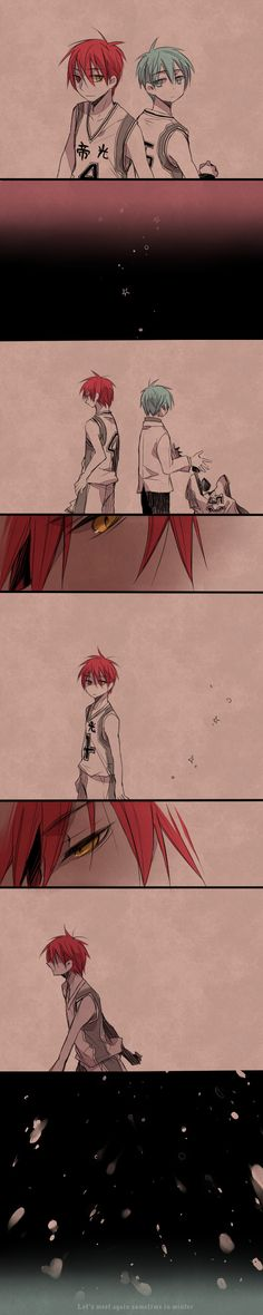 Stop it ಥ~ಥ 赤黒 feelings. You'll meet again Akashi-kun!