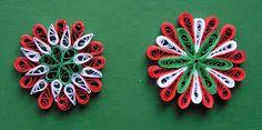 kokárda papírból - Google keresés Quilling Christmas, Floral, Flowers, Crafts, Google, March, House, Ideas, September