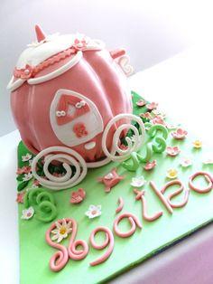 Torta kočiar pre Popolušku
