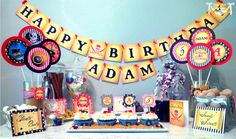 Yo Ho Boys Pirate Party - PRINTABLE PARTY COLLECTION - Cutie Putti Paperie