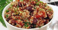 Zesty Quinoa Salad Zesty Quinoa Salad, Quinoa Salad Recipes, Lime Quinoa, Tabbouleh Recipe, Potluck Recipes, Healthy Recipes, Vegetarian Recipes, Cooking Recipes, Kale Recipes