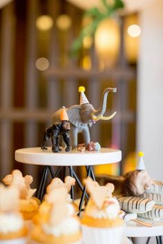 Safari animals from a Minimalist Safari Birthday Party on Kara's Party Ideas | KarasPartyIdeas.com (11)