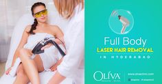 Having unwanted hair can make you feel embarrassed;Be confident with permanent #laserhairremoval @OlivaClinics.  The USFDA approved laser hair removal equipments with advanced in-motion technology remove the hair pain-free way.