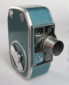 Bauer 88 Vintage 8mm Movie Camera. $40.00, via Etsy.