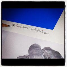 And Barts finished  signature....@CREEPS http://instagram.com/p/ThoHMkTBcF/
