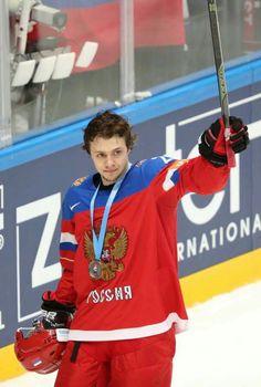 Artemi Panarin for Team Russia. #BreadMan #72 for the #Blackhawks. #27 for #Russia #Hockey
