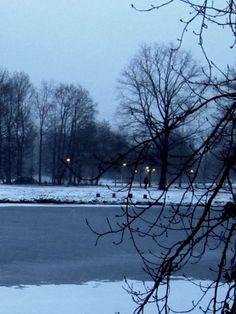 Abendlauf am 23.01.2013 bei 0 Grad. Weitere Touren: http://trampelpfad.net