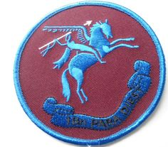 Para commando SF Belgian / Belgium Patch Who dares Wins 1 Para Dies