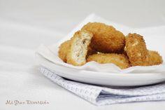 Que ricos que están y encima no quedan para nada secos, al revés, quedan muy jugosos!!!.     Ingredientes   200 gr. de pechuga de pollo (...