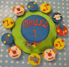 circus cake by mrs bakers cakes