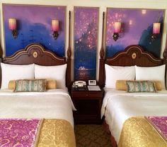 Tokyo Disneyland, Tangled themed room