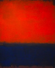 Top 10 Most Famous Paintings by Mark Rothko - Wanderlust Mark Rothko Paintings, Rothko Art, Abstract Paintings, Famous Abstract Artists, Famous Artists, Most Famous Paintings, Colour Field, Aesthetic Painting, Art Abstrait