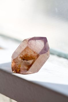 Mineral Therapy // Smoky Quartz by Ashley Neese Minerals And Gemstones, Crystals Minerals, Rocks And Minerals, Stones And Crystals, Gem Stones, Crystal Magic, Crystal Healing, Quartz Crystal, Crystal Aesthetic