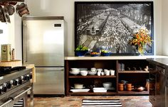 Grey's Anatomy star, Ellen Pompeo, her new Hollywood Hills home/kitchen