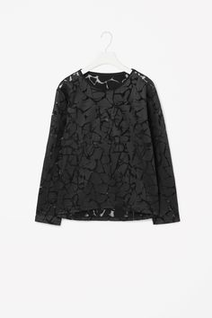 COS | Sheer printed top