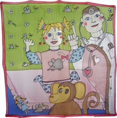 Šatka -obrázok do detskej izby na zarámovanie Silk Painting, Peanuts Comics, Art, Art Background, Kunst, Performing Arts, Art Education Resources, Artworks