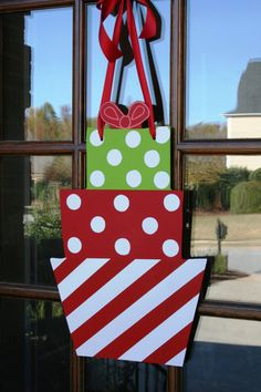 Whimsical Christmas Presents Hand cut & by southernwhimzy on Etsy, $40.00