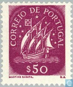 Postage Stamps - Portugal [PRT] - Sailer