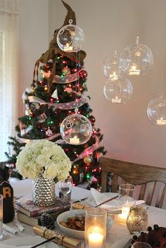 t's actually super easy to re-create the magic of the holiday feast right in your dining room – floating candles, Winter snow, and all. Here's how to pull it off!
